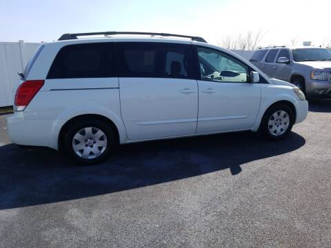 2006 Nissan Quest for sale at Caps Cars Of Taylorville in Taylorville IL