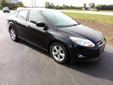2012 Ford Focus for sale at Caps Cars Of Taylorville in Taylorville IL