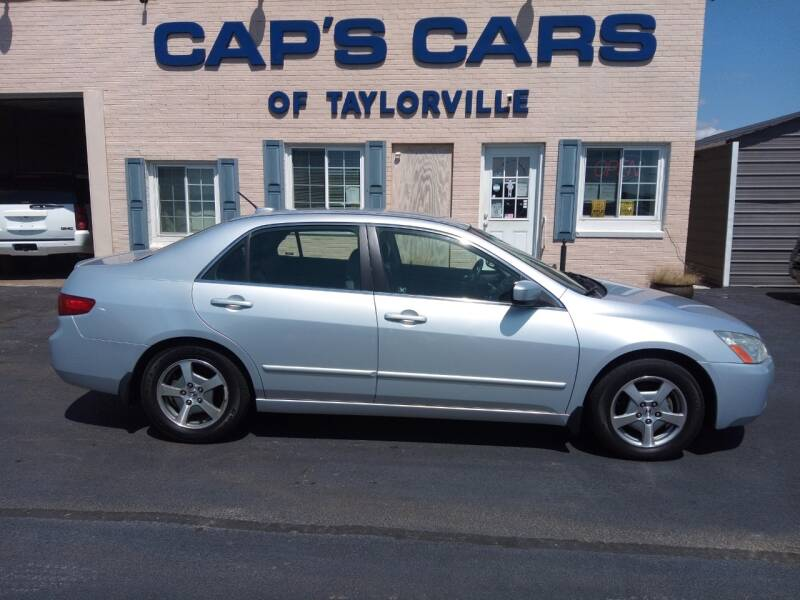 2005 Honda Accord for sale at Caps Cars Of Taylorville in Taylorville IL