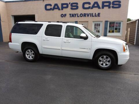 2007 GMC Yukon XL for sale at Caps Cars Of Taylorville in Taylorville IL