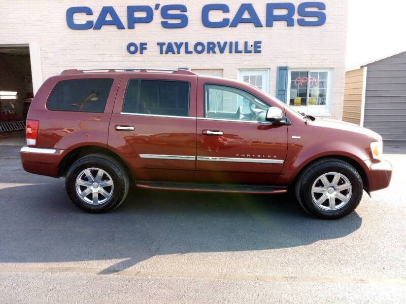 2008 Chrysler Aspen for sale at Caps Cars Of Taylorville in Taylorville IL