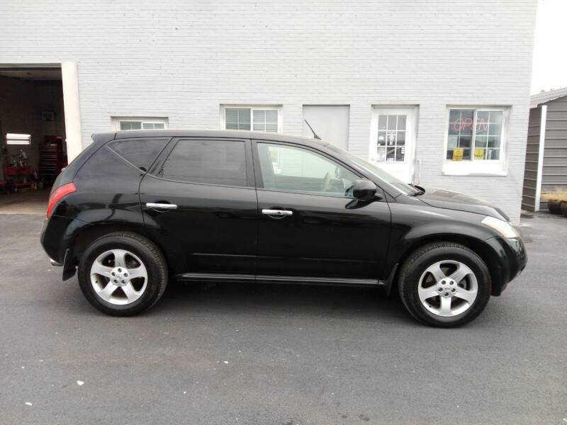 2004 Nissan Murano for sale at Caps Cars Of Taylorville in Taylorville IL