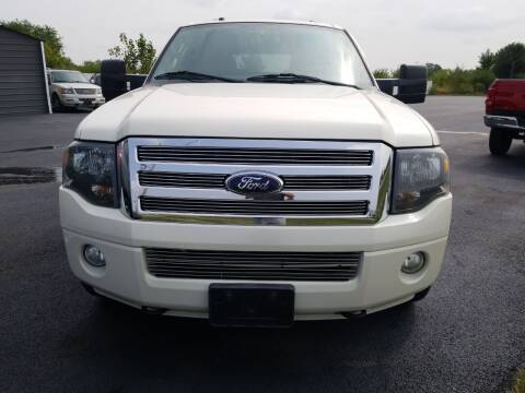 2007 Ford Expedition EL for sale at Caps Cars Of Taylorville in Taylorville IL
