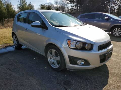 2014 Chevrolet Sonic LTZ Auto for sale at LAVERY AUTOMOTIVE SALES & SERVICE in Alliance OH