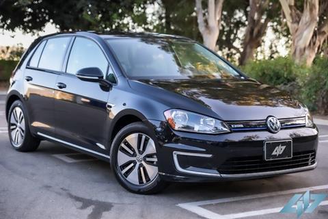 2016 Volkswagen e-Golf for sale in Yorba Linda, CA