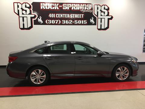 2018 Honda Accord for sale in Rock Springs, WY