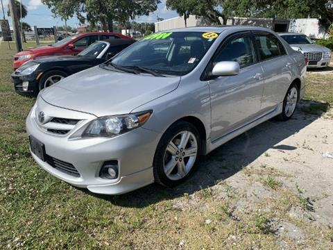 2013 Toyota Corolla for sale in Belle Glade, FL
