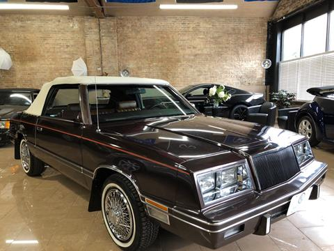 1982 Chrysler Le Baron Medallion for sale at Elite Auto Corp in Chicago IL