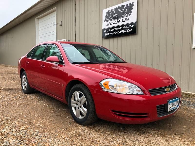 2008 Chevrolet Impala For Sale At DSA Inc. In Glenwood MN