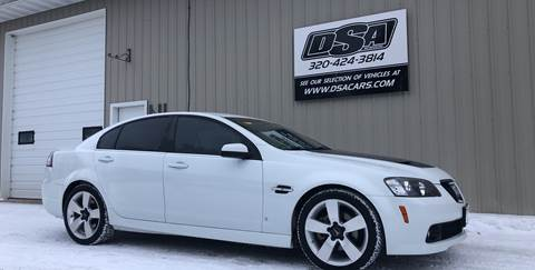 2009 Pontiac G8 for sale in Glenwood, MN