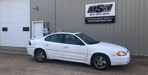 2004 Pontiac Grand Am for sale in Glenwood, MN