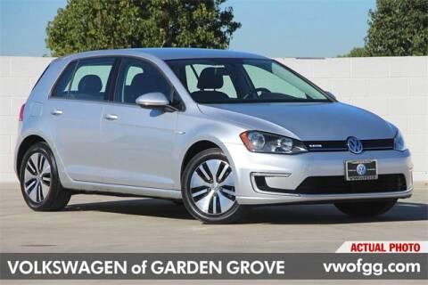 2016 Volkswagen e-Golf for sale in Garden Grove, CA