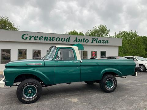 1962 Ford F-100 for sale in Greenwood, MO
