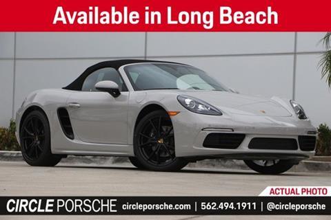 2019 Porsche 718 Boxster for sale in Long Beach, CA