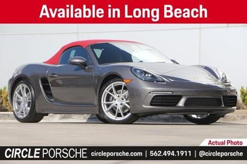 2019 Porsche 718 Boxster for sale in Long Beach, CA