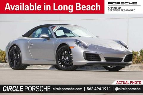 2017 Porsche 911 for sale in Long Beach, CA
