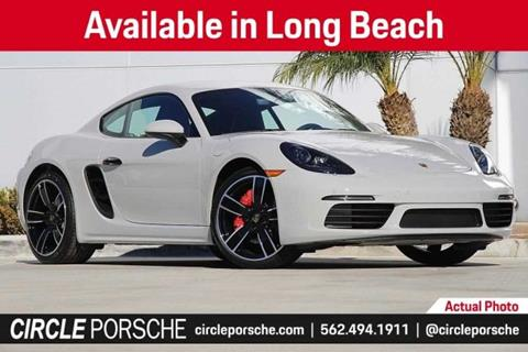 2019 Porsche 718 Cayman for sale in Long Beach, CA