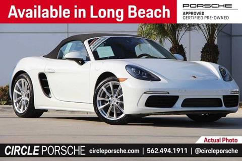 2018 Porsche 718 Boxster for sale in Long Beach, CA