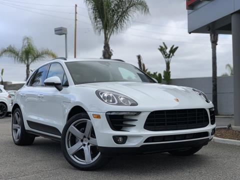 2017 Porsche Macan for sale in Long Beach, CA