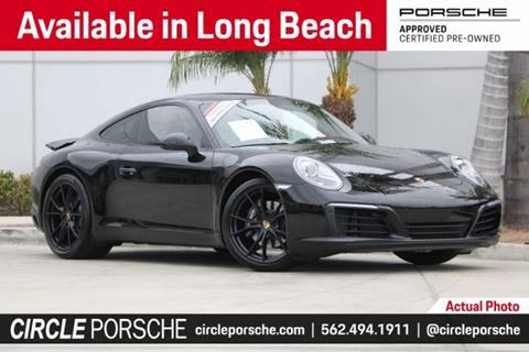 2017 Porsche 911 for sale in Long Beach, CA