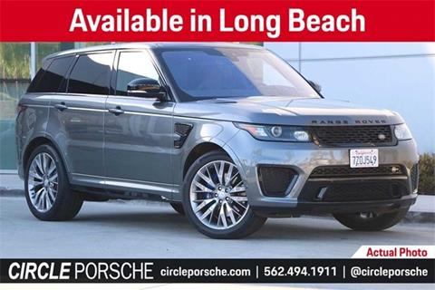 2017 Land Rover Range Rover Sport for sale in Long Beach, CA