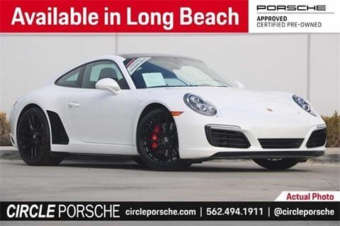 Porsche Long Beach >> 2017 Porsche 911 For Sale In Long Beach Ca