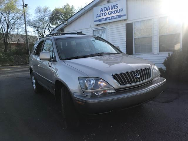 2000 Lexus RX 300 For Sale At Adams Auto Group LLC In Grandview MO