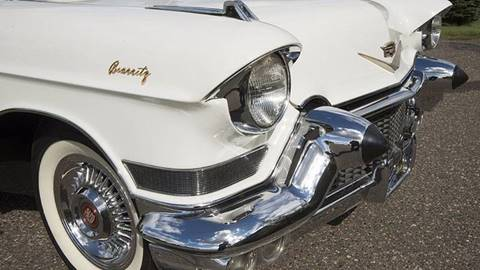 1957 Cadillac Eldorado Biarritz for sale at Berliner Classic Motorcars Inc in Dania Beach FL