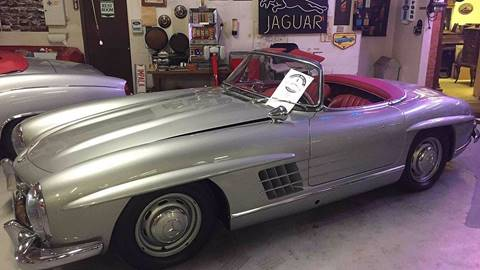 1957 Mercedes-Benz SL-Class for sale at Berliner Classic Motorcars Inc in Dania Beach FL