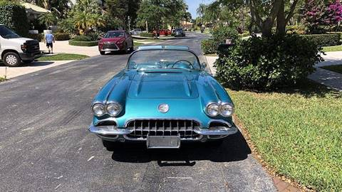 1959 Chevrolet Corvette for sale at Berliner Classic Motorcars Inc in Dania Beach FL
