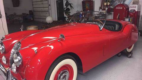 1957 Jaguar XK for sale at Berliner Classic Motorcars Inc in Dania Beach FL