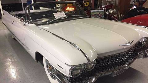 1960 Cadillac Series 62 for sale at Berliner Classic Motorcars Inc in Dania Beach FL