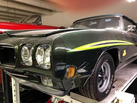 1970 Pontiac GTO for sale at Berliner Classic Motorcars Inc in Dania Beach FL