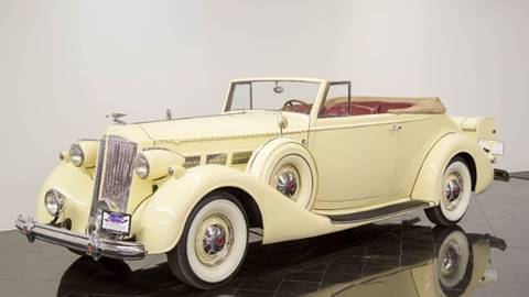 1937 Packard Super 8 for sale at Berliner Classic Motorcars Inc in Dania Beach FL
