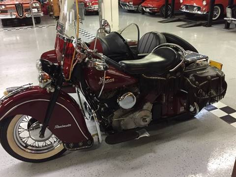 1947 Indian Chief for sale at Berliner Classic Motorcars Inc in Dania Beach FL