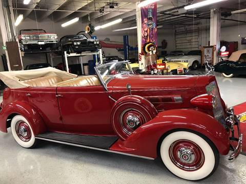 1936 Packard 120 for sale at Berliner Classic Motorcars Inc in Dania Beach FL
