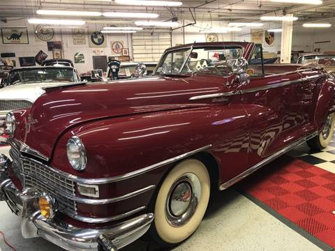 1947 Chrysler Windsor for sale at Berliner Classic Motorcars Inc in Dania Beach FL