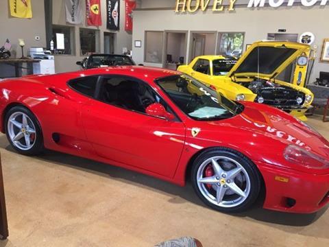 2003 Ferrari 360 Modena for sale in San Antonio, TX