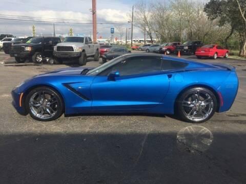 2015 Chevrolet Corvette Stingray Z51 for sale at HOVEY MOTORCARS in San Antonio TX