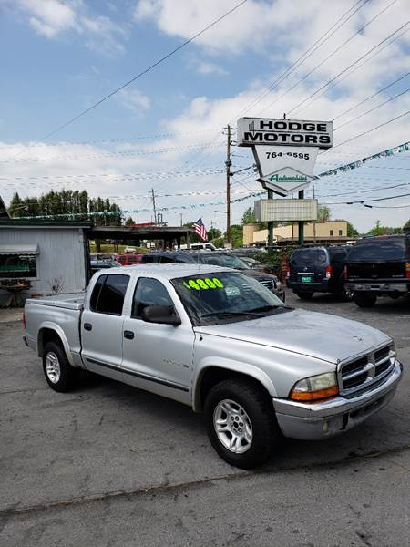 2002 Dodge Dakota for sale at HODGE MOTORS in Bristol TN