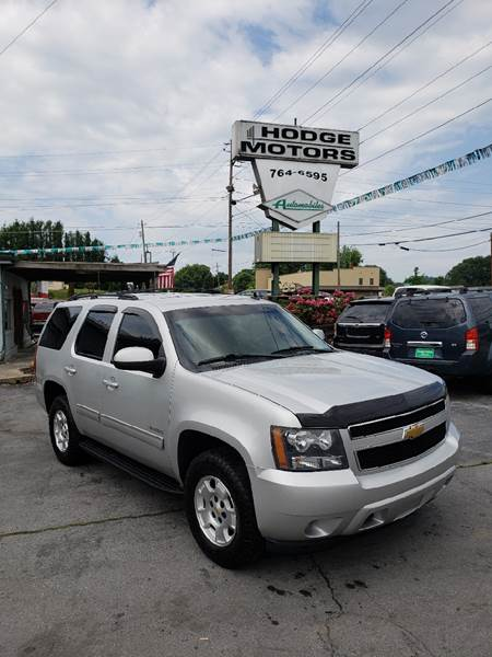 2011 Chevrolet Tahoe for sale at HODGE MOTORS in Bristol TN