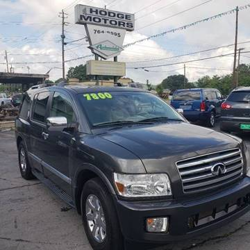 2006 Infiniti QX56 for sale at HODGE MOTORS in Bristol TN