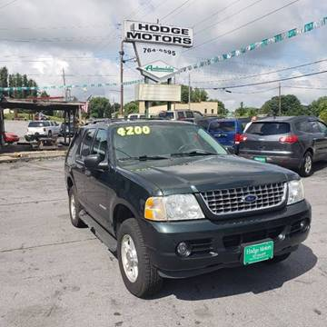 2004 Ford Explorer for sale at HODGE MOTORS in Bristol TN