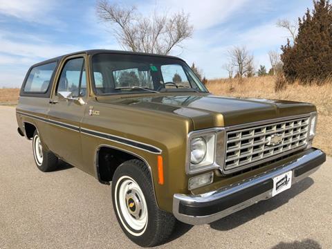 1976 Chevrolet Blazer for sale in Lincoln, NE