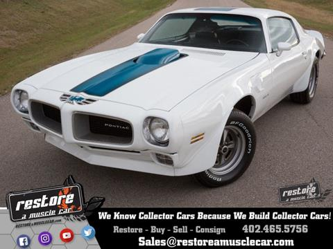 1970 Pontiac Trans Am for sale in Lincoln, NE