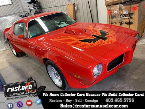 1973 Pontiac Trans Am for sale in Lincoln, NE