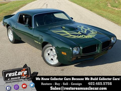 1973 Pontiac Trans Am For Sale In Lincoln Ne