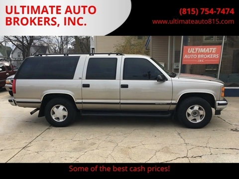 1999 GMC Suburban for sale in Dekalb, IL