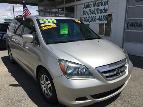 2007 Honda Odyssey for sale in Billings, MT