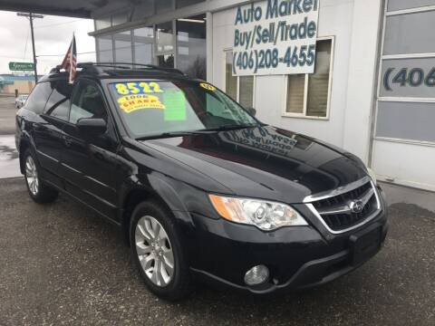 2009 Subaru Outback for sale at Auto Market in Billings MT